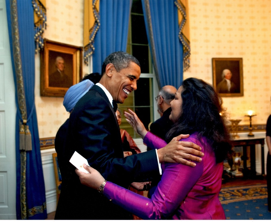 Preeta Bansal with President Obama
